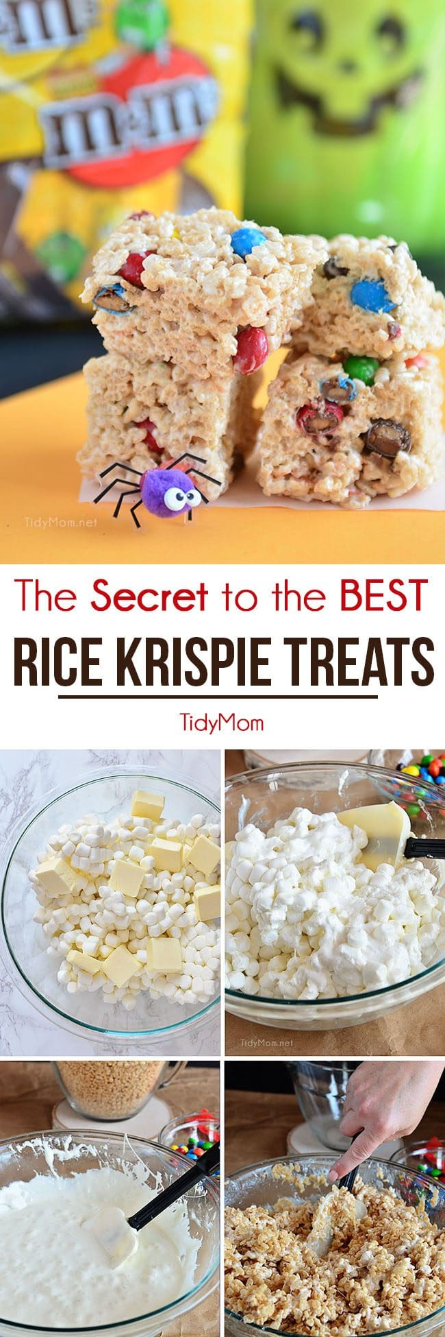 How to make the best sweet sticky perfect rice krispie treats at home!! Any easy recipe, anyone can follow! CLICK TO GET THE SECRET TO THE BEST RICE KRISPIE TREATS