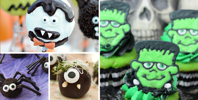 Throw a ghoulishly-good Halloween party with cute, creepy and frightfully fun Spooktacular Treats. From Frankenstein cupcakes to monster bark, these easy Halloween recipes will be the haunting hit of the party. Details at TidyMom.net