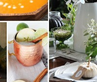 Easy and Beautiful DIY Thanksgiving Inspiration. These affordable DIY Thanksgiving crafts, recipes and decor will get your home ready for holiday entertaining.