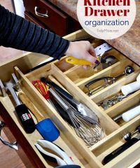 Take Back Kitchen Drawer Organization at TidyMom.net