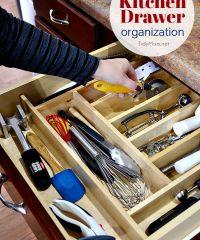 Take Back Kitchen Drawer Organization at TidyMom.net