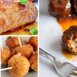 Football Party Food recipe from mouthwatering appetizers to touchdown chili! at TidyMom.net