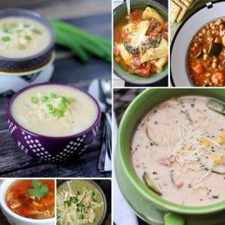 8 Super Delicious Soup recipes for a cozy meal at home. soup recipes at TidyMom.net