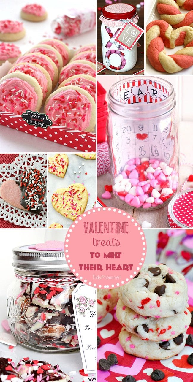 Sweet Valentine Treats to Melt Their Heart on Valentine's Day.
