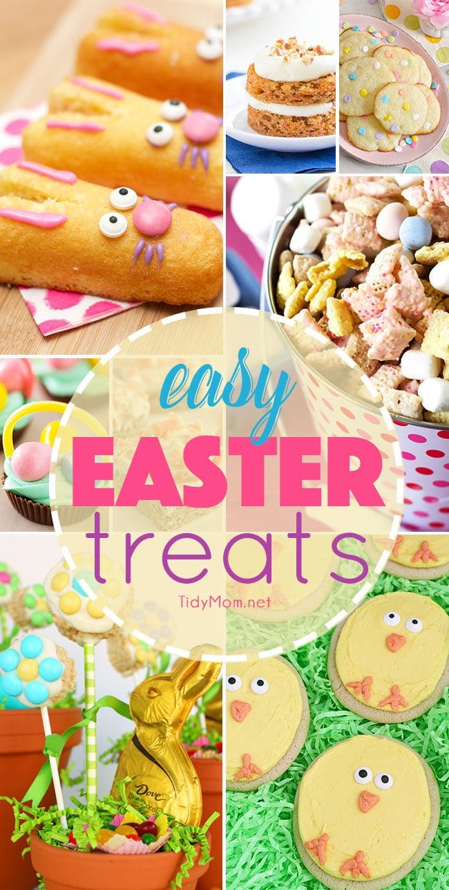 Easter celebrations would not be complete without a sweet dessert. Homemade easy easter treats make a beautiful addition to any Easter-themed get together that both kids and adults will enjoy.