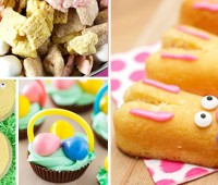 Easy Homemade Easter Treats to make. Lots of cute easter treat/dessert ideas for the kids and adults.