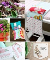 Mother's Day is just around the corner, and if you are still looking for what to give Mom on her special day, how about a HANDMADE MOTHER'S DAY! Here are 8 ideas for inspiration to create something special for your Mom that she will love and cherish at TidyMom.net