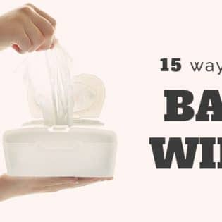 15 brilliant ways to use baby wipes, that have nothing to do with babies. find out more at TidyMom.net