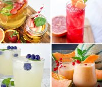 Refreshing Fruity drink recipes perfect for summer dinning and entertaining.