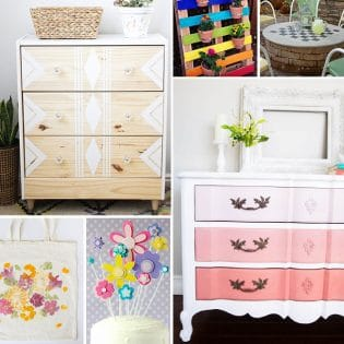 Stunning Spring DIYs that you can easily make!