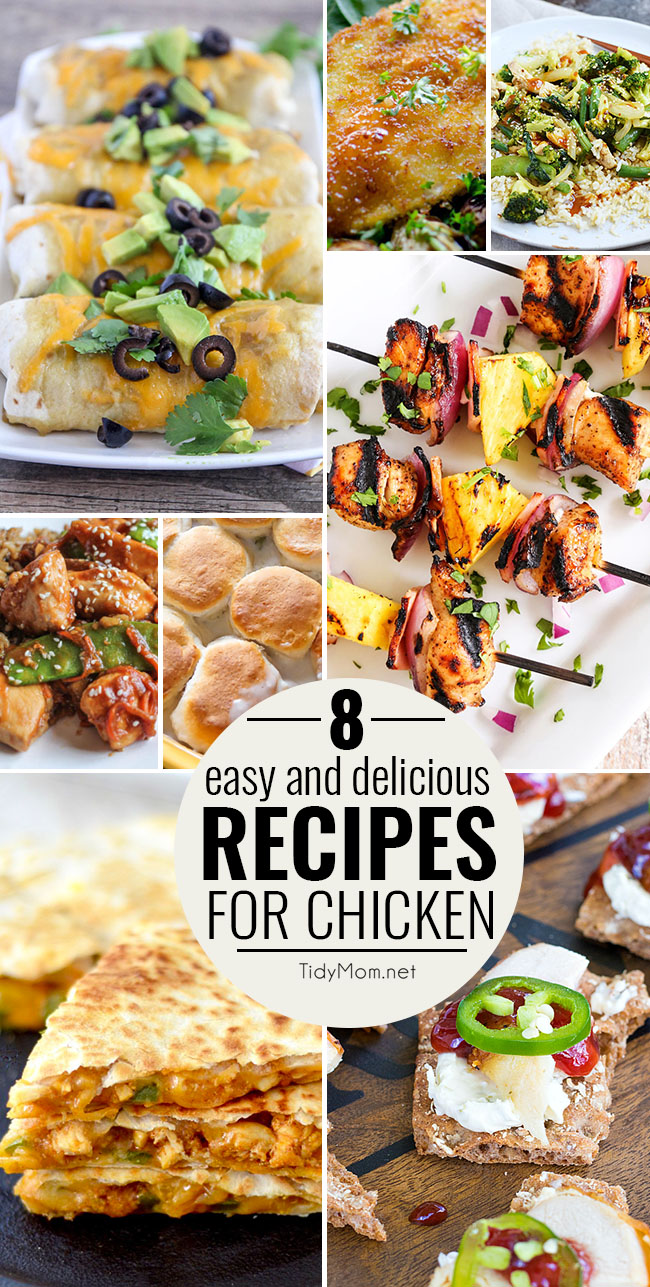 Easy and Delicious Recipes for Chicken