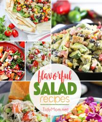You'll love these flavorful salad recipes, perfect for summer entertaining.