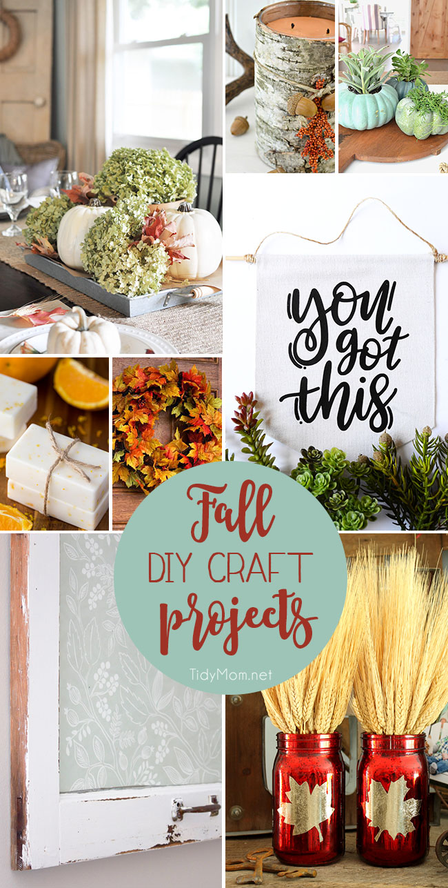 Fall for DIY….8 easy Fall DIY Craft Projects to make this weekend.
