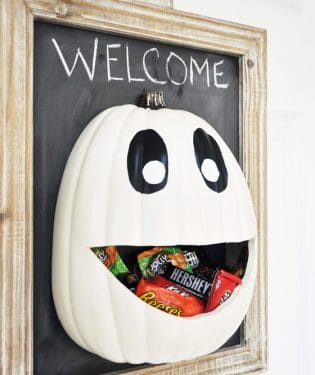 Halloween Candy Door Hanger from Cherished Bliss.