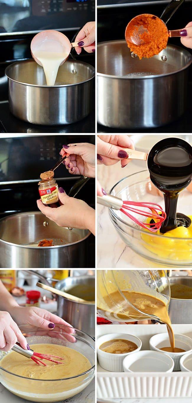 How to make Pumpkin Crème Brûlée