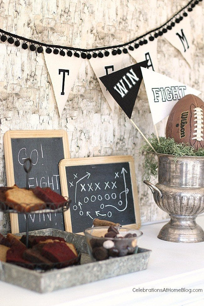 Game Day Party Plan Big Game Party Sweets