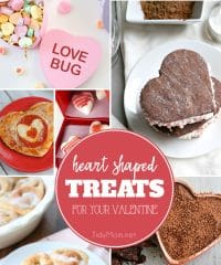 15 DIY Heart Shaped Treats to make for Your Valentine at TidyMom.net