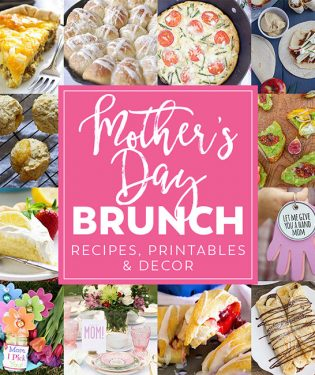 Whether you are a mother or you are celebrating a mother, I have a Mother's Day Brunch Meal Plan to help make Mom feel special. From appetizers and mains to desserts, Mother's day gifts and decor. Find everything you need to make her day special at TidyMom.net