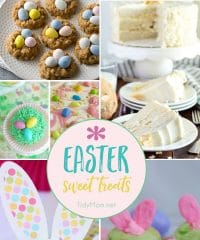 From bunny tail muddy buddies and bunny cupcakes to carrot cake cupcakes and coconut cake, Easter Sweet Treats are not only delicious but fun to make and enjoy!! Get all the recipes at TidyMom.net