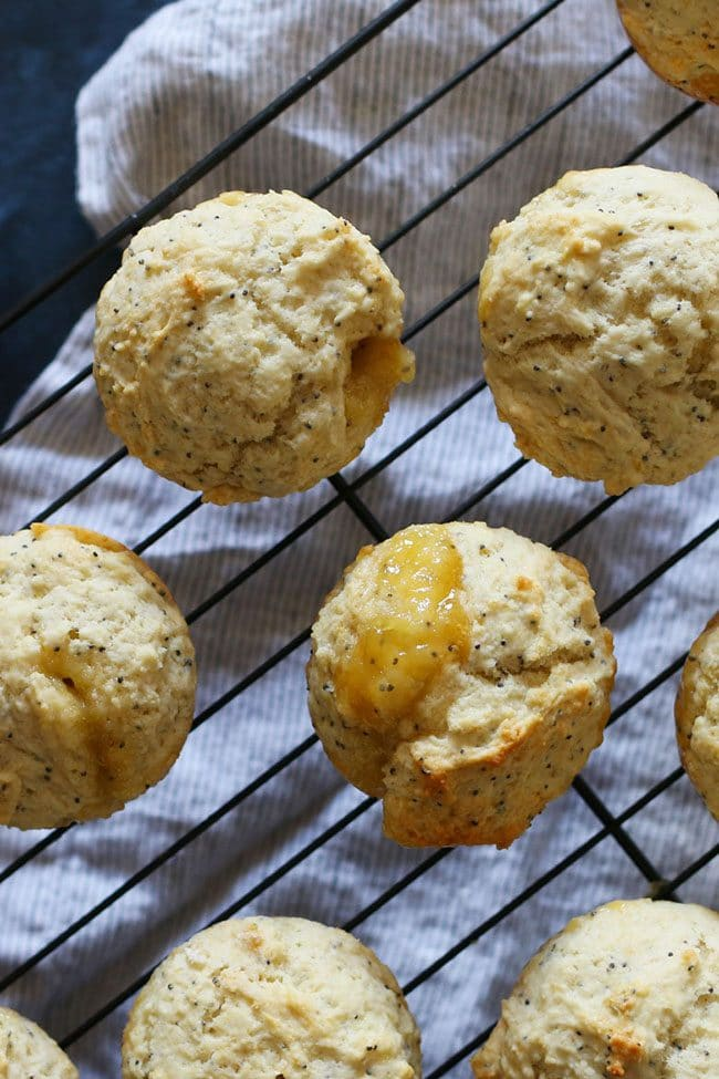 Mother's Day Brunch Meal Plan recipes, printables and decor at TidyMom.net - Lemon Poppy Seed Muffin recipe