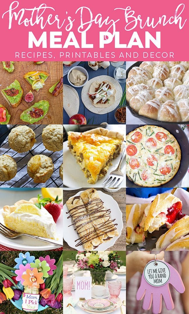 Whether you are a mother or you are celebrating a mother, I have a Mother's Day Brunch Meal Plan to help make Mom feel special. From appetizers and mains to desserts, Mother's day gifts and decor. Find everything you need at TidyMom.net