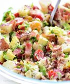 BLT Red Potato Salad with Avocado