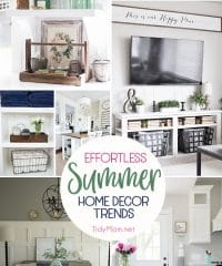 Effortless Summer Home Decor Trends