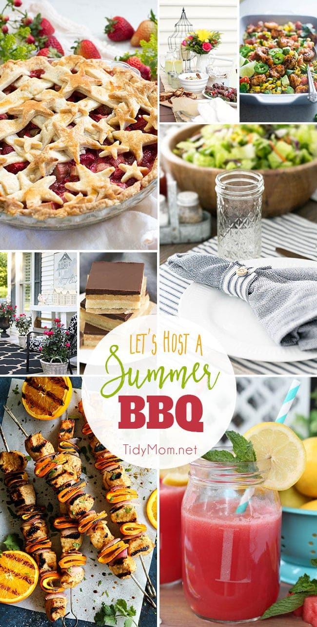 Let 39 S Host A Summer Bbq Tidymom