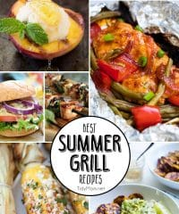 8 Best Summer Grill Recipes you must make!! Get all the recipes at TidyMom.net