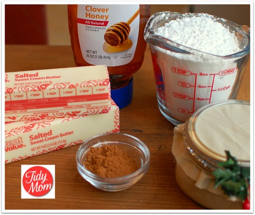 Cinnamon Honey Butter ingredients