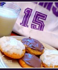 Game day cake mix cookies