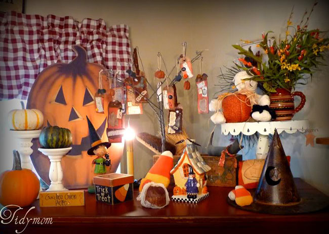 halloween vingnette