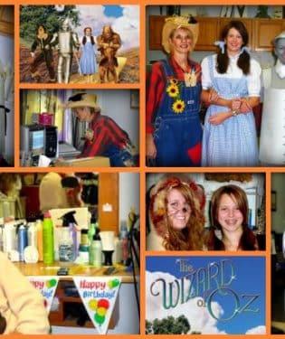 DIY Wizard of Oz Halloween Costumes