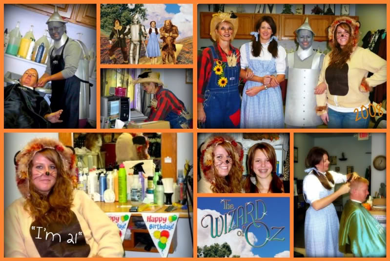 DIY Wizard of Oz Halloween Costumes