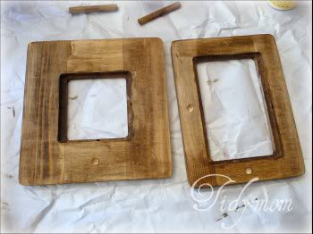 stained frames