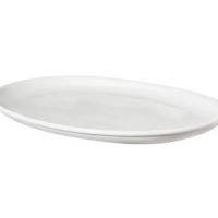 Oval Porcelain Serving Platter