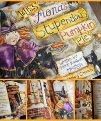 Miss Fionas Stupdendous Pumpkin Pie Halloween Book at Tidymom.net