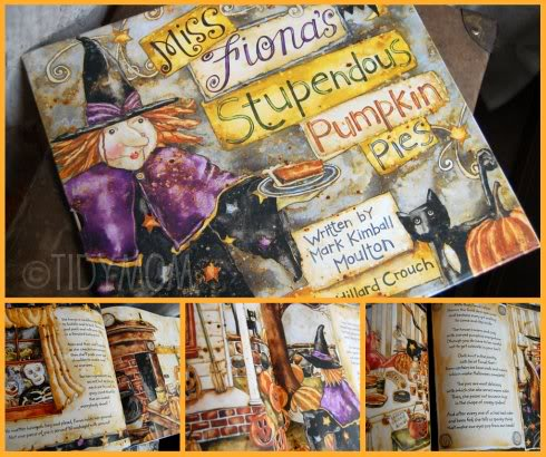 Miss Fionas Stupdendous Pumpkin Pie Halloween Book at Tidymom.net