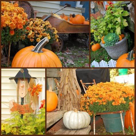 Fall outdoors decor at TidyMom