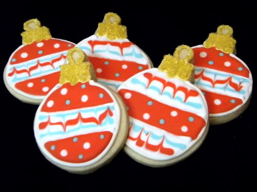 ornaments cookies