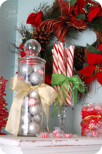 you can find many great items for christmas decor at your local dollar store that that