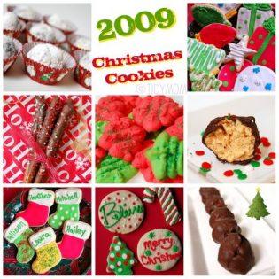 Christmas cookies at TidyMom.net