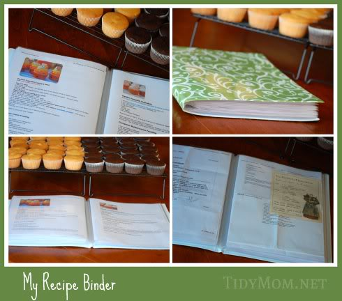 About A Year And Half Ago I Got Binder With Page Protectors Now Put My Printed Recipes In There