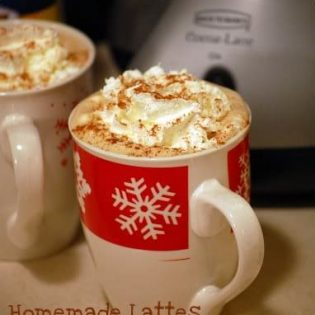 homemade latte