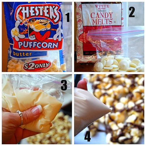 How to make chocolate puffcorn at TidyMom.net