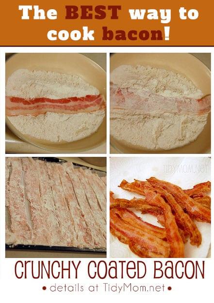 Crunchy Coated Bacon