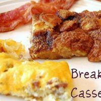 Weekend Brunch Sausage Egg and Cheese Casserole
