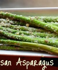 roasted parmesan asparagus at TidyMom.net