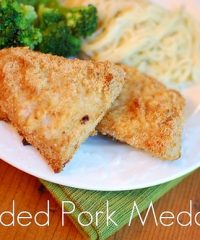 Breaded Pork Medallions