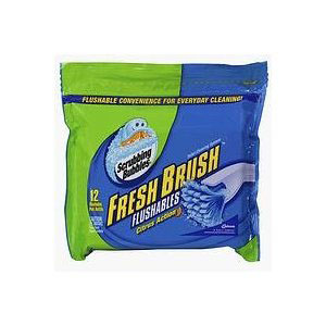 Scrubbing Bubbles Fresh Brush Flushables toilet bowl cleaner